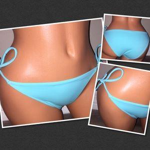 VS Side tie swim bikini bottoms SMALL